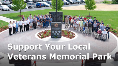 Support Rogers Veterans Memorial Park